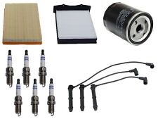 Premium Tune Up KIT Filters Spark Plugs Wire Set For Land Rover Freelander 02-05