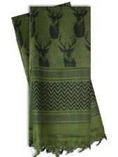 100% Coton Shemagh Foulard militaire Keffieh Arabe Armée Tissé SAS Voile Wrap UK
