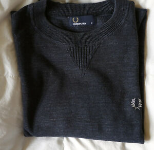 Fred Perry jumper/sweatshirt. M. 100% cotton. Excellent condition