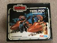 Star wars Action Figures Vintage Kenner Twin Pod Old Kenner Super Rare! 1980s
