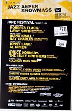Jazz 1999 Concert Poster / Roberta Flack and Bruce Hornsby