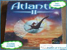 Atlantis II (2) Big Box game - Windows PC game