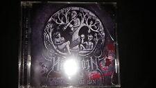 Hazeroth charms of sin cd christian black metal no lp crimson moonlight marduk