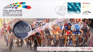 PNC Australia 2010 Melbourne Cycling Medallion Limited Ed 7500 Low Number 0005