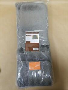 "Ottomanson Washable Super Soft Plush Stair Tread, 9"" X 26, Gray 7 Pack"