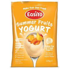 EasiYo Summer Fruits Yogurt Mix (Add any other sachet and SAVE on Postage)