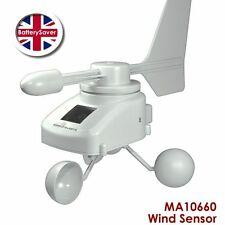 Technoline Mobile Alerts MA10660 Anemometer - Wind Speed and Direction Sensor