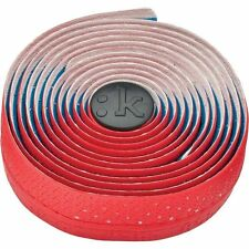 Fizik Performance Tacky Touch 3mm Cycling Bar Tape Red w/ Logos New