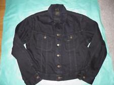 Lee Riders Black Denim Jacket Large Mens