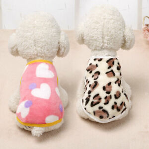 New Pet Clothes Sweater Chihuahua Yorkie Small Dog Coat Jacket Velvet Soft Warm