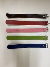Bicycle Wicker Basket Straps For Bike Brown-Red-Pink-Green-Navy