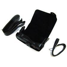Retrodesign Tasche (Kunstleder) für Panasonic LUMIX DMC-TZ10 schwarz -  8003908