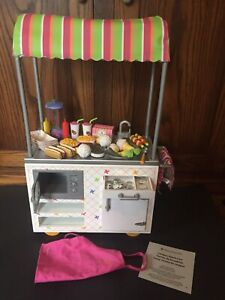 """American Girl 18"""" Doll Bottle Of Mustard ONLY From Campus Snack Cart"""