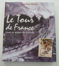 livre Tour de France Lieux et étapes de légende