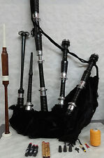 bagpipes beginner set with tutorial book scottish highland bagpipe and bag