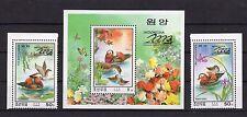 KOREA 2000 - DUCKS - BIRDS - INDONESIA - FAUNA - 2 MULTIPLE + S/S MNH** D