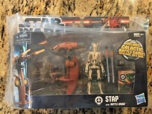 Star Wars STAP with Battle Droid - Includes Galactic Battle Game