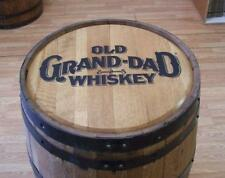 Old-Grand-Dad  Whiskey Barrel-Sanded-Finished-FREE SHIPPING