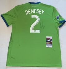 Clint Dempsey Team USA signed Seattle Sounders Adidas jersey Exact Proof JSA