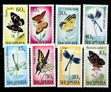 ALBANIA Sc 922-9 NH ISSUE OF 1966 - INSECTS
