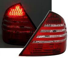 2 FEUX ARRIERE LED ROUGE BLANC CRISTAL MERCEDES CLASSE E W211 320 CDI 4-matic