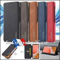 Etui coque housse Retro Style Cuir PU Leather Wallet case Samsung Galaxy A52 A72