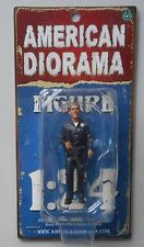 "POLICE OFFICER I AMERICAN DIORAMA 1:24 Scale Man Male Figurine 3"" Figure"