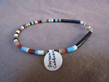 Native Santo Domingo Multi-stone Heishi Bracelet by Dorene Calabaza JB165