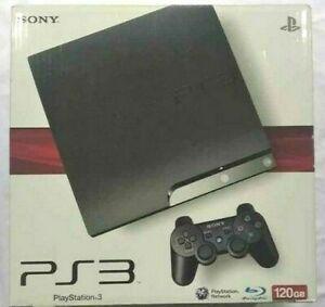 SONY Playstation 3 Slim 120GB Black Console