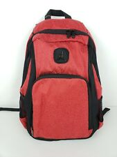best website e5ae9 1d0d5 Nike Air Jordan Backpack Book Bag Laptop storage School Bag Red Black  9A1456-R78