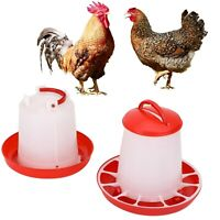1.5kg Feeder & 1.5Ltr Drinker Chicken/Poultry/Hen Food And Water Accesories