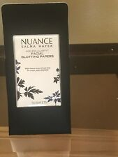 NEW NUANCE SALMA HAYEK Ageless Clarity FACIAL BLOTTING PAPERS 50 Sheets
