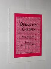 Abdul Rauf, PH.D Quran For Children. Library Of Islam Softback Book. 2010.
