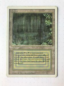 Magic MTG - Bayou - Revised (3rd) Edition - LP/MP
