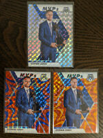 3x Stephen Curry 2019-20 Panini Mosaic MVP Silver Prizm Lot of 3 #299 🔥 BV $230