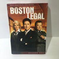 Boston Legal - Season One (2010) 5-Disc Set DVD NEW & Sealed