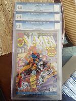 X-MEN #1  WRAP AROUND COVER+BEAST  1ST ACOLYTES UNCANNY X-MEN 281 ALL CGC 9.8
