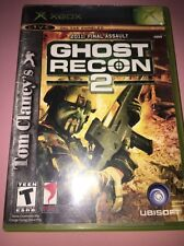 Tom Clancy's Ghost Recon 2 (Microsoft Xbox, 2004), Great Condition!