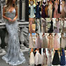 Womens Formal Wedding Evening Cocktail Ball Gown Party Prom Bridesmaid Dress UK