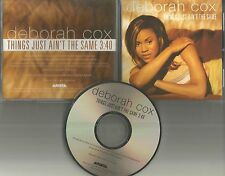 DEBORAH COX Things Just Ain't the Same 1997 PROMO Radio DJ CD Single MINT USA