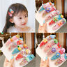 10PCS Fruit Sequin Baby Girl Hair Clip Hairpin Baby Hair Clips Barrettes Clip
