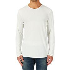 G-Star Raw T-Shirt 'DIDER LT JERSEY RELAXED R T L/S' Snow XXL NEW RRP $99 Mens