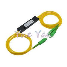 SC APC 1X2 PLC Singlemode Fiber Optical splitter FTTH PLC SCAPC