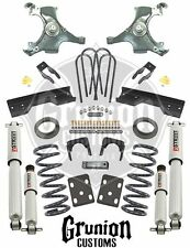 Chevy Silverado C1500 88-91 5/6 Lowering Kit w/Performance Shocks Belltech 696SP