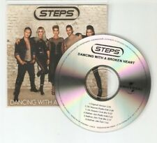 "STEPS - DANCING WITH A BROKEN HEART THE REMIXES "" NEW BRAZILIAN 6 TRACK CD PROMO"