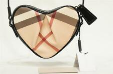 BURBERRY CHECK HEART SHAPED CROSSBODY GIRL BAG NWT