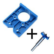 35mm Drilling Door Locator Concealed Hinge Hole Boring Jig Drill Guide Durable