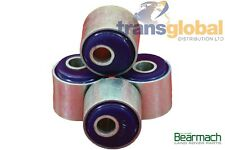 Land Rover Defender Caster Correct Radius Arm Bushes x4 (Thin Earlier Type)