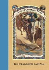 The Carnivorous Carnival A Series of Unfortunate Events # 9 by Lemony Snicket HC