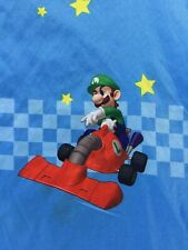 MarioKart DS Nintendo TWIN Size Flat Sheet Kids Bedding Decor Crafting Supply